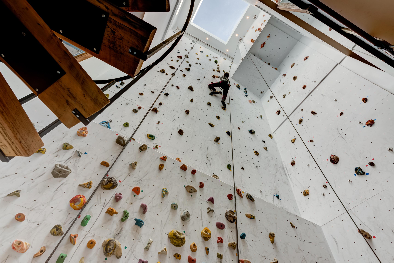 Faire Une Fenetre Dans Un Mur Porteur Prix la création d'un mur d'escalade signé les projets de nicolas