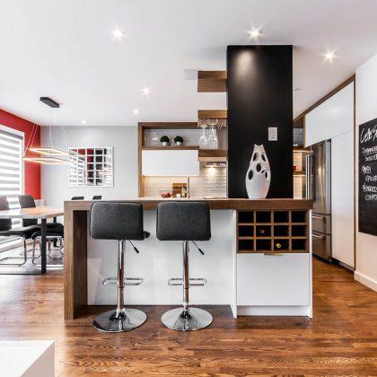 Rénovation cuisine 1m2 gestion de projets